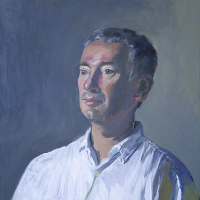 Paul, Yves Chaudouët, huile sur toile, 2012