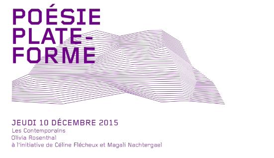 Archives de la soirée Performance Les Contemporains (15/10/2015)